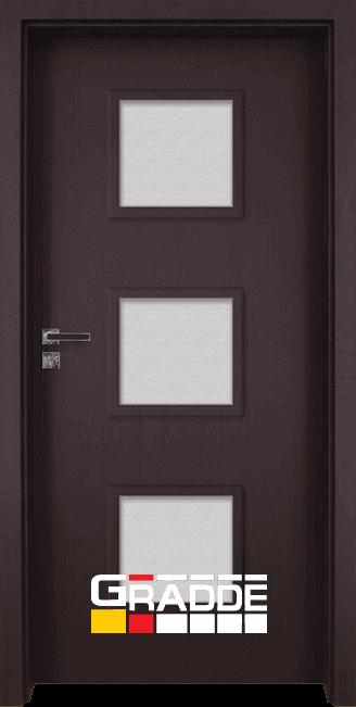 Интериорна врата Gradde Bergedorf - Орех Рибейра